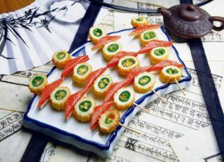 Manger sushi